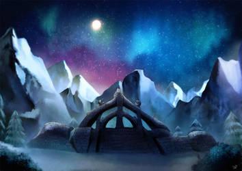 Rozen - Keizaal: Journey to Skyrim by akayashi