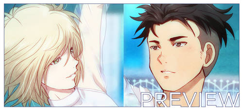 Gold Medal - YOI fanbook preview