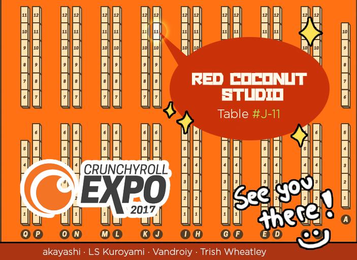 Crunchy Expo 2017 - Map by akayashi