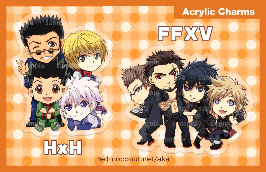 Charms - HxH FFXV by akayashi