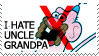 Uncle Grandpa by TheArtOfNotLikingYou