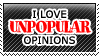 Unpopular Opinions by TheArtOfNotLikingYou
