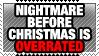 Nightmare before christmas by TheArtOfNotLikingYou