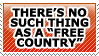 Free country by TheArtOfNotLikingYou