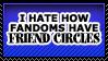 Friend Circles by TheArtOfNotLikingYou