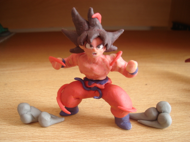 Goku Kaioken by fsalkatras