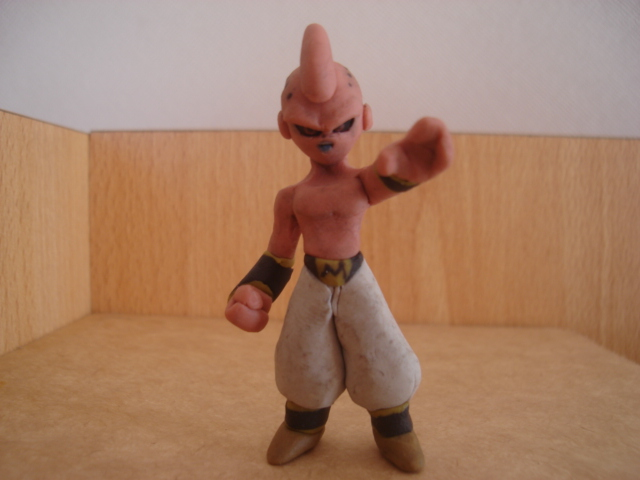 kid buu by fsalkatras