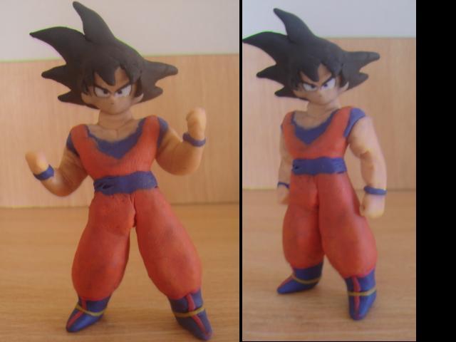Goku en plastilina by fsalkatras