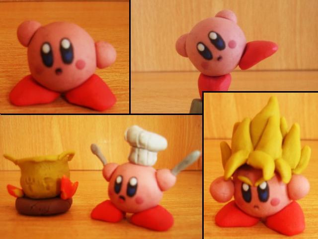 Kirby en plastilina by fsalkatras
