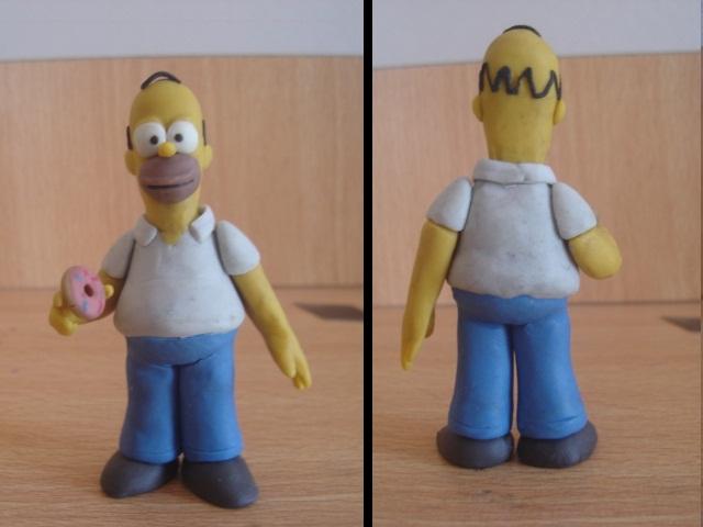 Homero en plastilina by fsalkatras