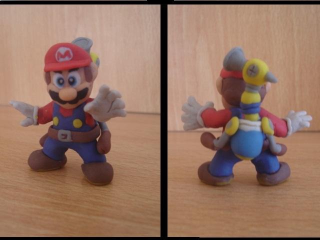 Mario bros en plastilina by fsalkatras