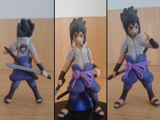Sasuke en plastilina by fsalkatras