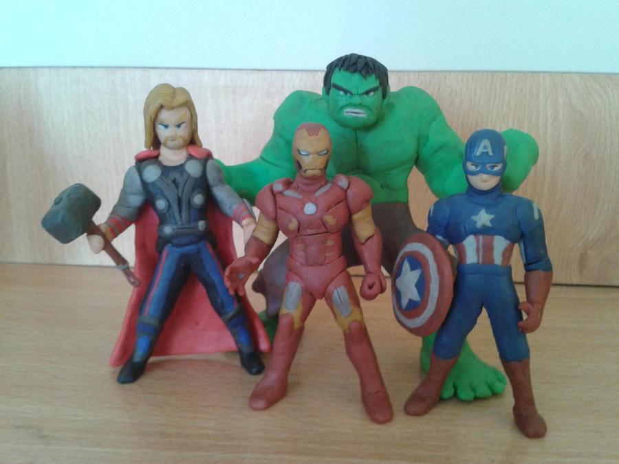 Avengers by fsalkatras