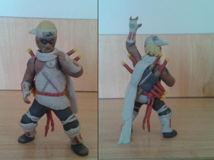killer bee en plastilina by fsalkatras