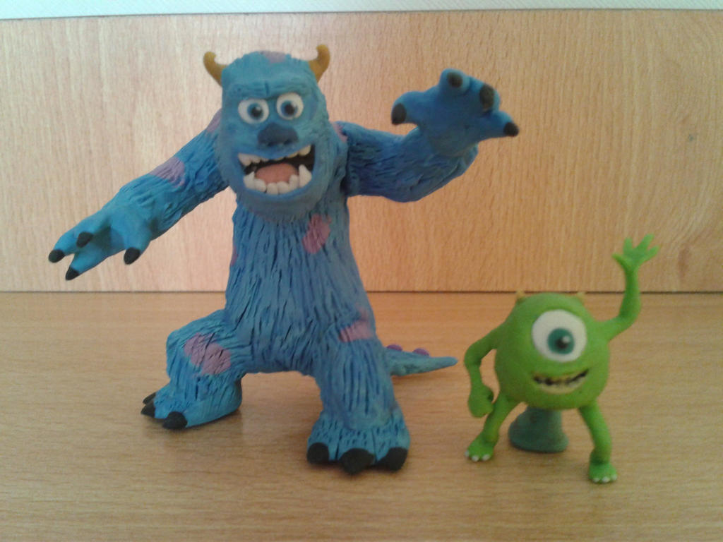mike y sully by fsalkatras