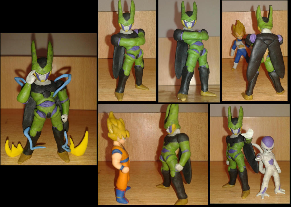 perfect cell en plastilina by fsalkatras
