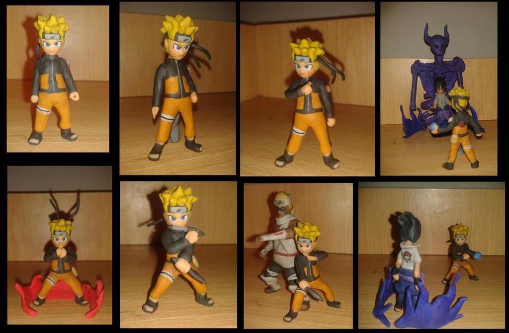Naruto en plastilina by fsalkatras