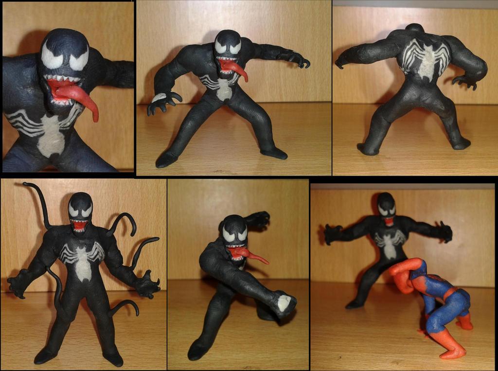 Venom en plastilina by fsalkatras