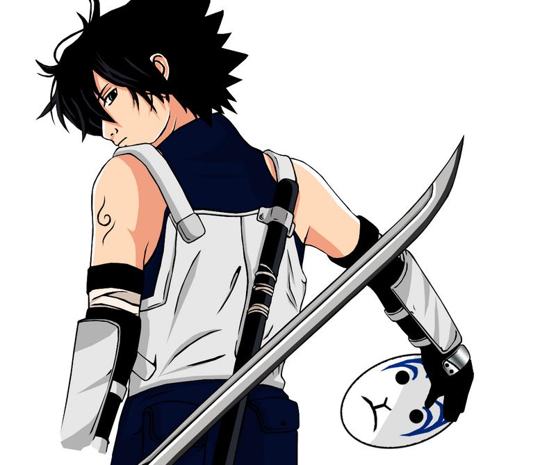 ANBU Sasuke by SnaKou on DeviantArt