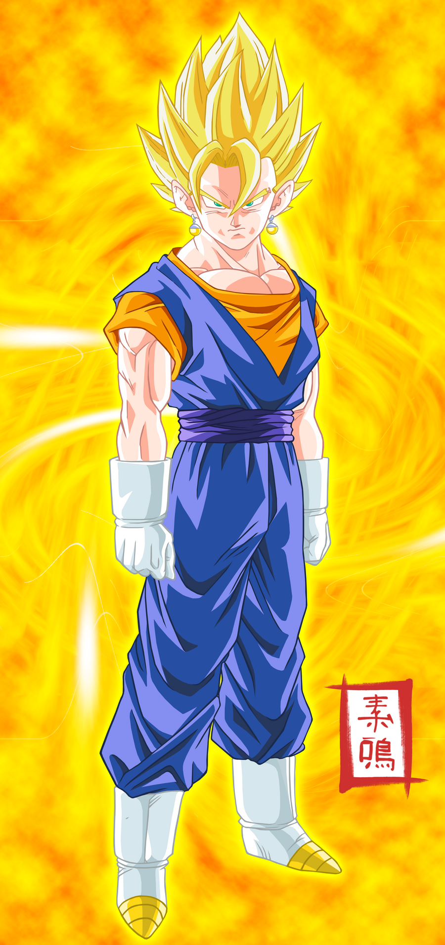Vegetto Pose by SnaKou Dragon Ball Z Saga de Majin Boo  Por Torrent