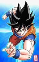 Goku Attack by SnaKou