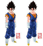Vegetto Normal Pose Versions