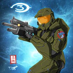 Halo Masterchief Major 117