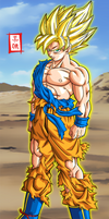 Goku SSJ Kai