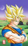 Goku SSJ2 Pose