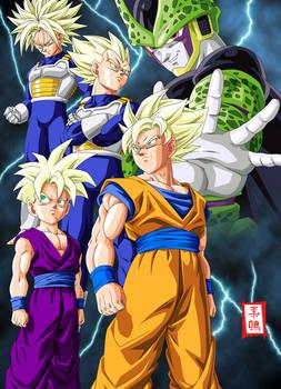 Dragon Ball Kai Cell Saga