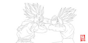 Rival For Life Lineart