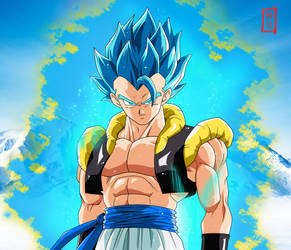 Gogeta SSJ Blue Appears (Dragon Ball Super BROLY) by SnaKou