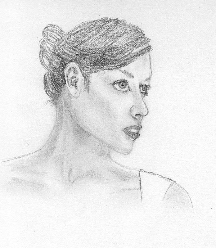 Quick Face Sketch By Lissbirds On DeviantART
