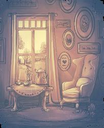 Cozy Room by H-e-n-r-i