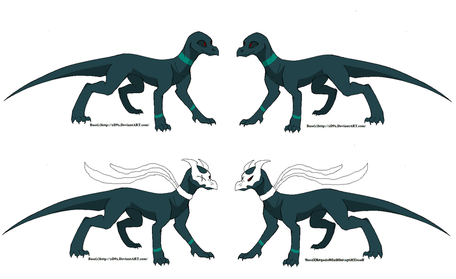 Frostbite ref sheet by DragonCartoons