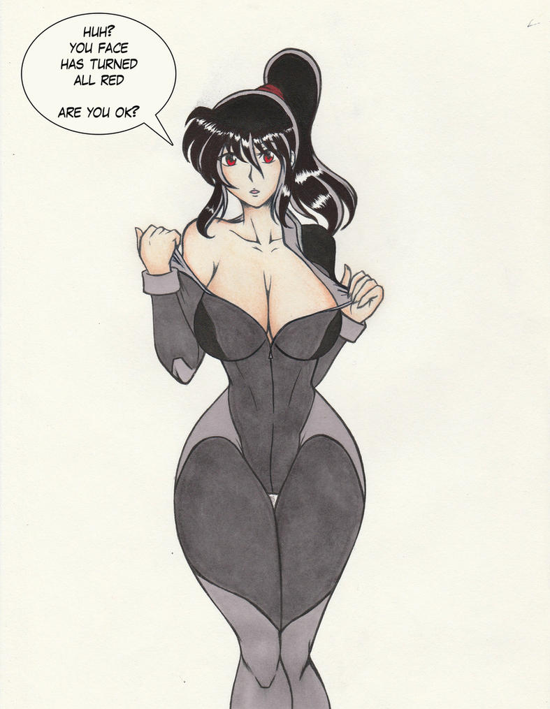 Myo Chan Undressing by koma-kun
