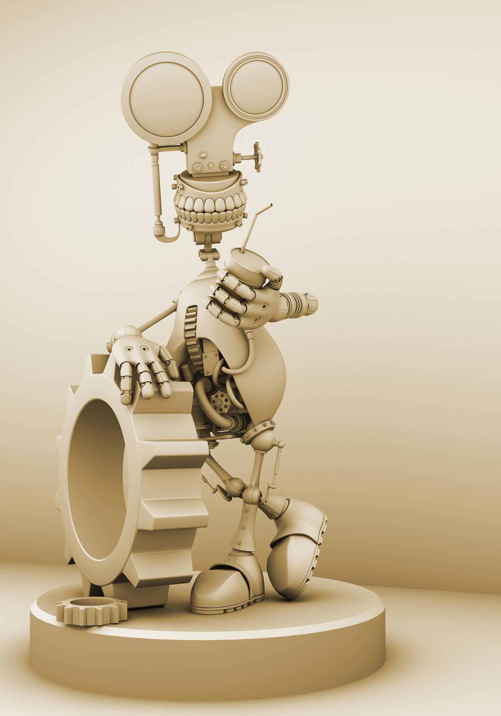 Robot copy by hongrenjoe