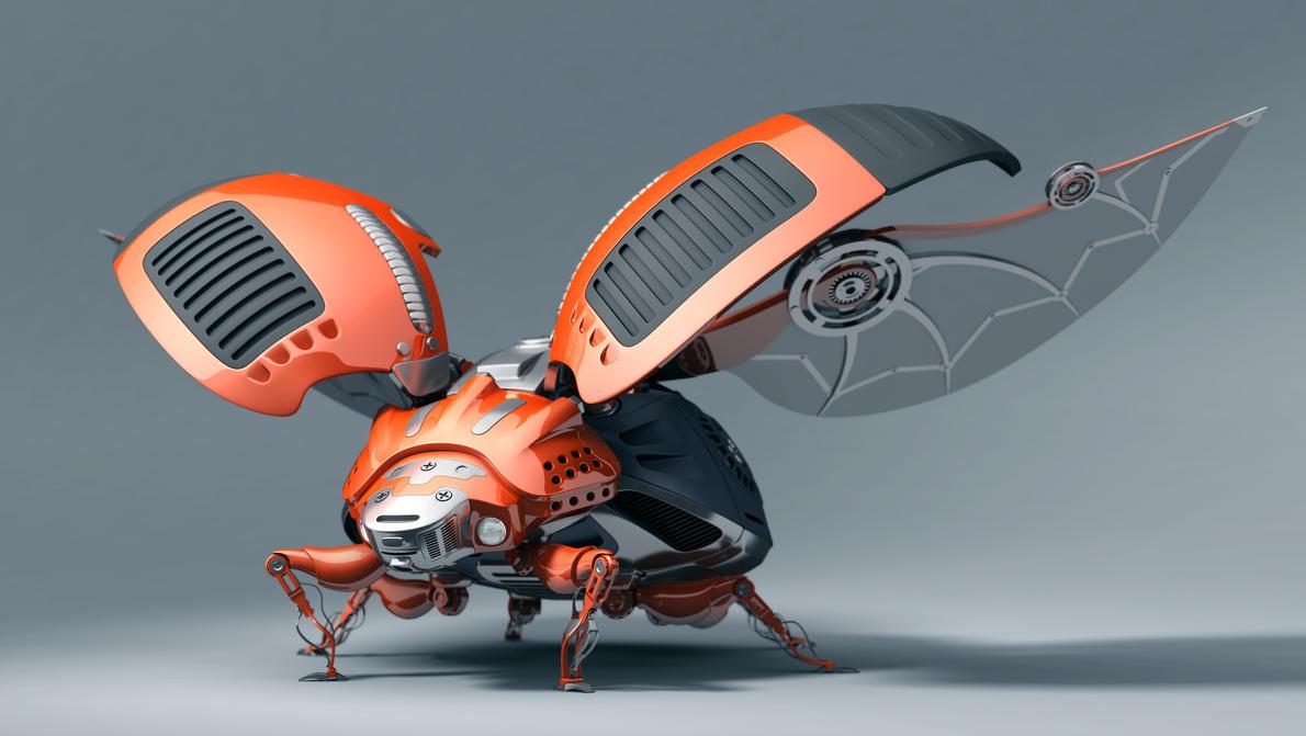 Ladybug Bot by hongrenjoe