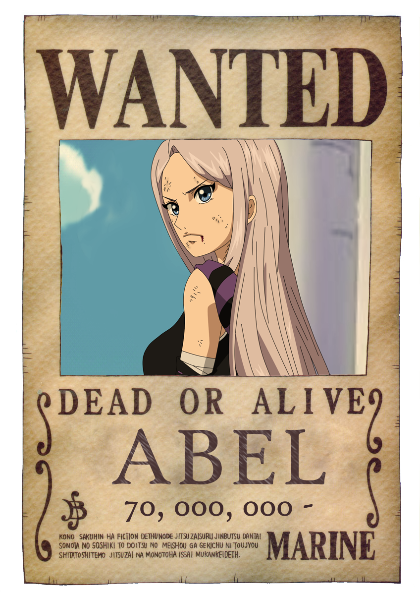 Wanted Poster on One-Piece-Pirates - DeviantArt