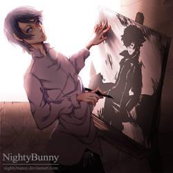 Artistic Inspiration. by nightybunny