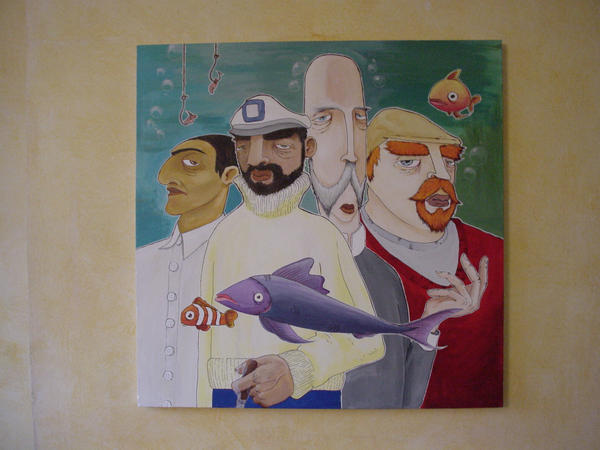 captain nemo and friends by bevlak