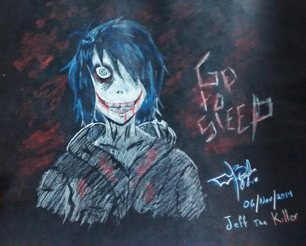 jeff the killer by OzzOrtiz