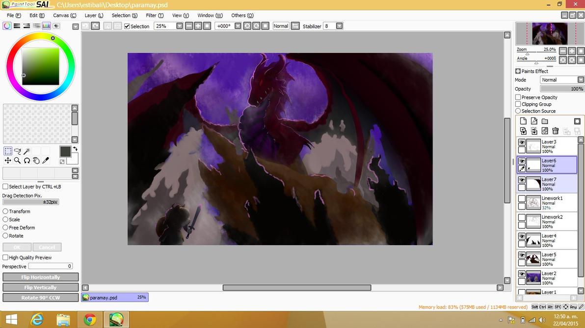 Red Dragon - W.I.P by OzzOrtiz