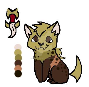 Spotted Hyena Allover Custom by LeftLefttheGecko