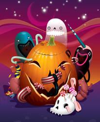 Happy Halloween by grelin-machin