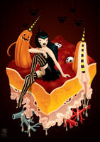 ... the anatomy of Halloween by grelin-machin