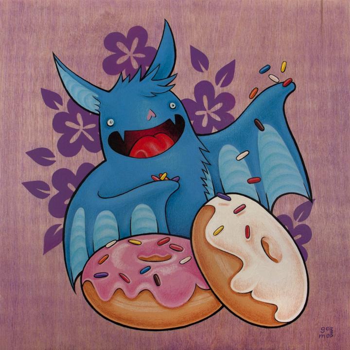 Sprinkles Bat by grelin-machin