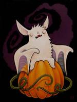 Haunted Bat by grelin-machin