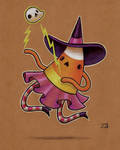 Witchy Candy Corn - sketch