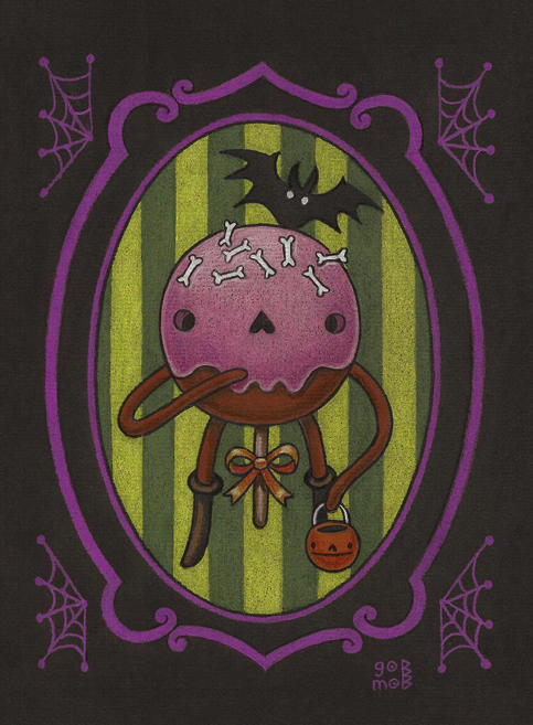 Spooky Cake Pop - sketch